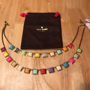 NWT Kate Spade NY Tutti Fruitti layered necklace